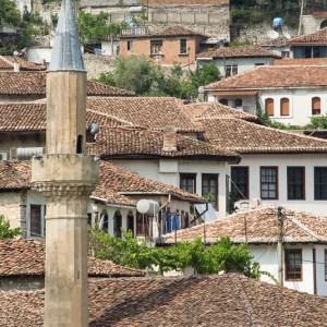 Moschee in Berat Albanien