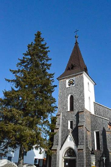 Kirche in Kvilda