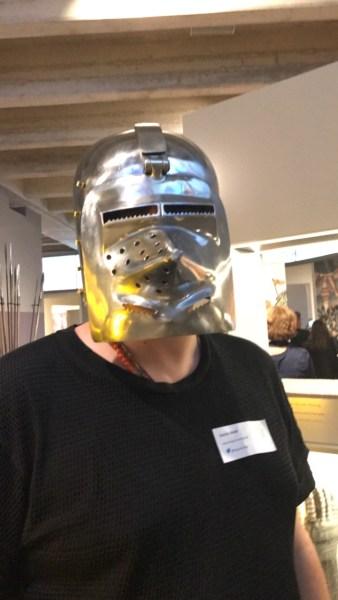 Sascha von Blog in Orange beim Museumserlebnis