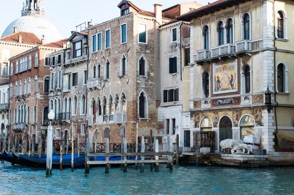 Prächtige Palazzi des Canal Grande Venedig