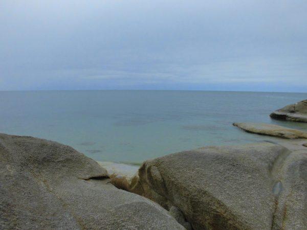 Felsen am Hat Lamai Beach