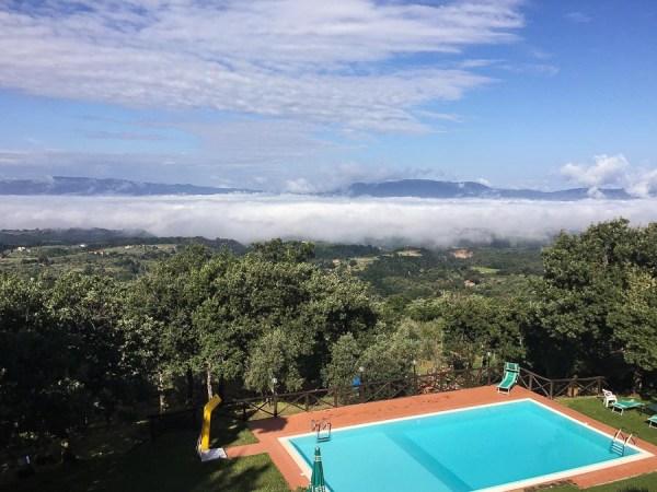 Pool im Agriturismo La Capitata