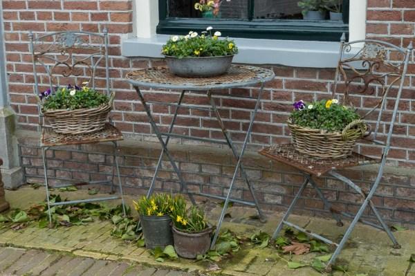 Gemütliches Dorfleben auf Texel