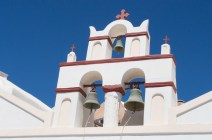 Glockenturm auf Santorin