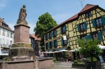 Schöner Platz in Ribeauvillé