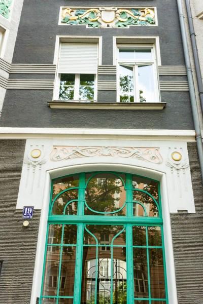 Franz Joseph Straße 19 Fassade