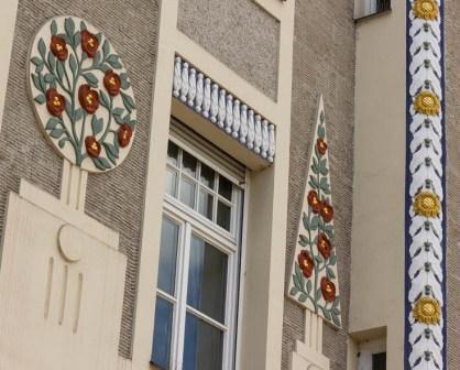 Leopoldstraße 77 München Ornamente