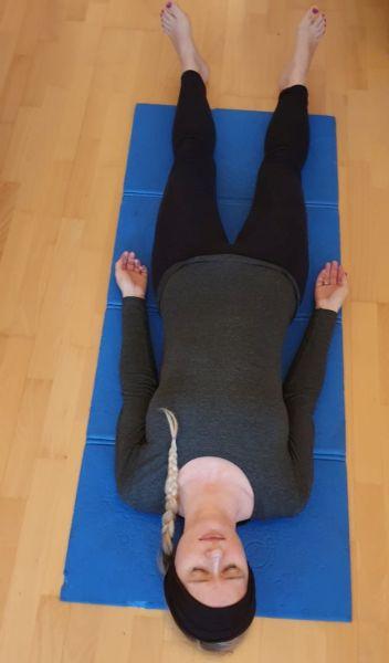 Yoga Nidra in Shavasana