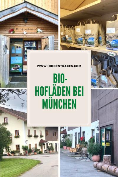 Einkaufen auf Bio-Bauernhöfen bei München