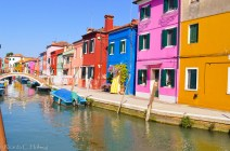 Contrasting colours of Burano