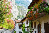 Alpine charms of Limone sul Garda