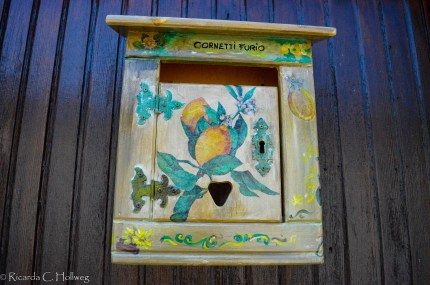 Letter box in Limone sul Garda