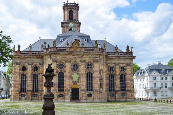 Baroque church in Saarbrucken