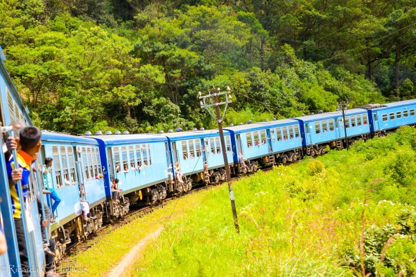 Slow Train in Sri Lanka