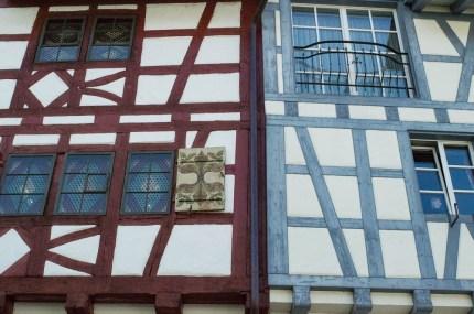 Half-timbered houses of Stein am Rhein