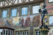 House front painting in Stein am Rhein