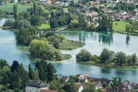 River view at Stein am Rhein