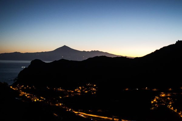 Early morning views on the Teide volcano