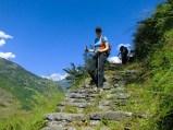 Community trekking in Nepal