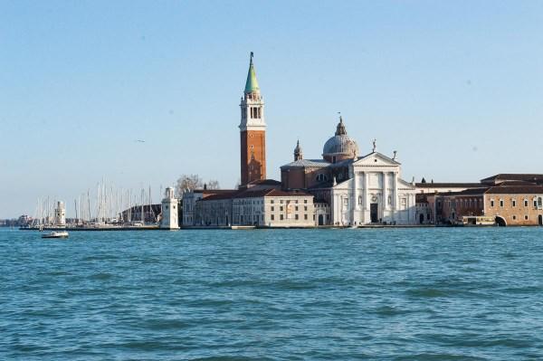 View on San Giorgio Maggiore from San Marco