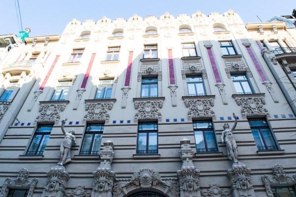 Art Nouveau house in Riga