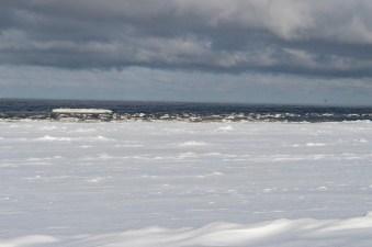 Jurmala icy beach