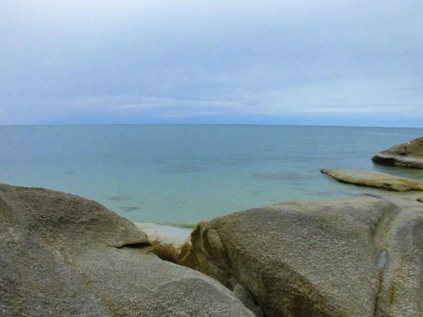 Rocks at Hat Lamai Beach