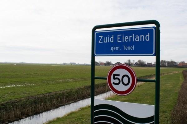 Sign Zuid Eierland Texel