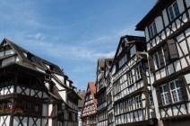 Half-timbered houses in Petite France Straßurg
