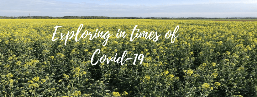 Slow instead of fast: Exploring in times of Covid-19