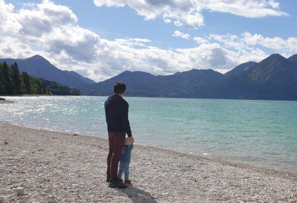 Relaxation at Lake Walchensee