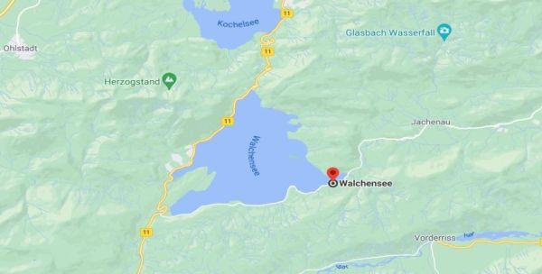 Picnic site at Walchensee
