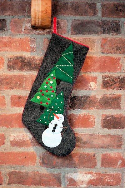 20 Christmas Stocking Patterns Hidden Treasure Crafts