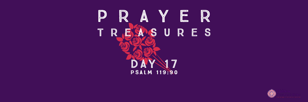 Prayer Treasures Day 17 God's faithfulness