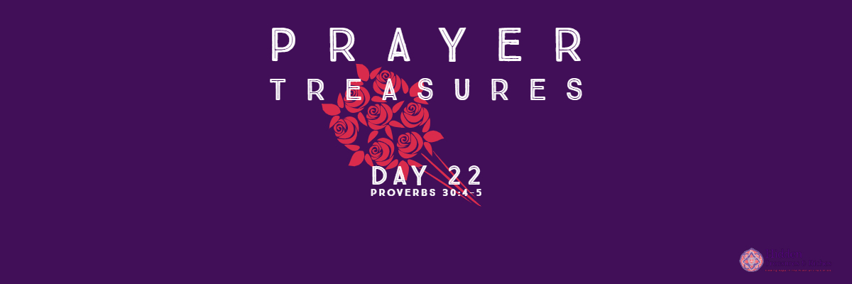 Prayer Treasures Day 22- Shield and Refuge