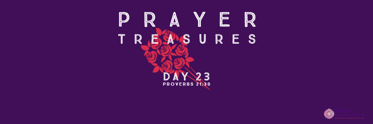 Prayer Treasures Day 23-God's Plan