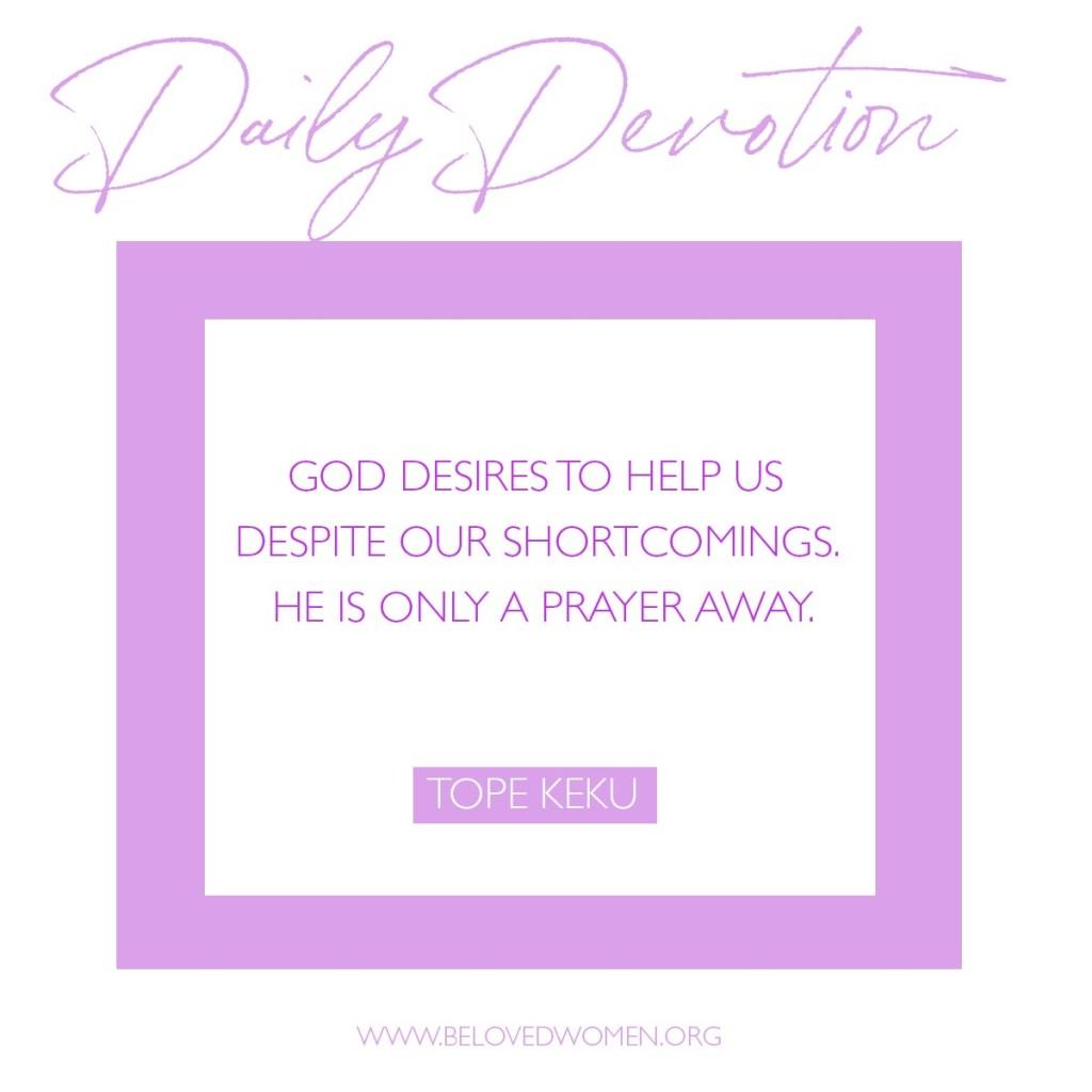 A prayer of Desperation