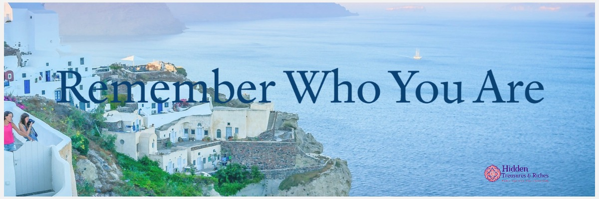 Identity: Remember who you are