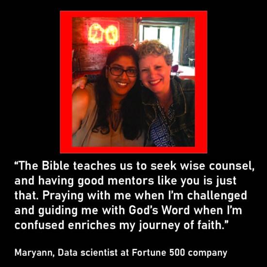 Maryann and Mel- Loving the next generation through mentoring