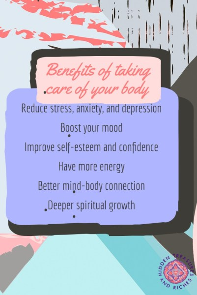 Benefits of Physical self care, #1 secret to life-long wellness.