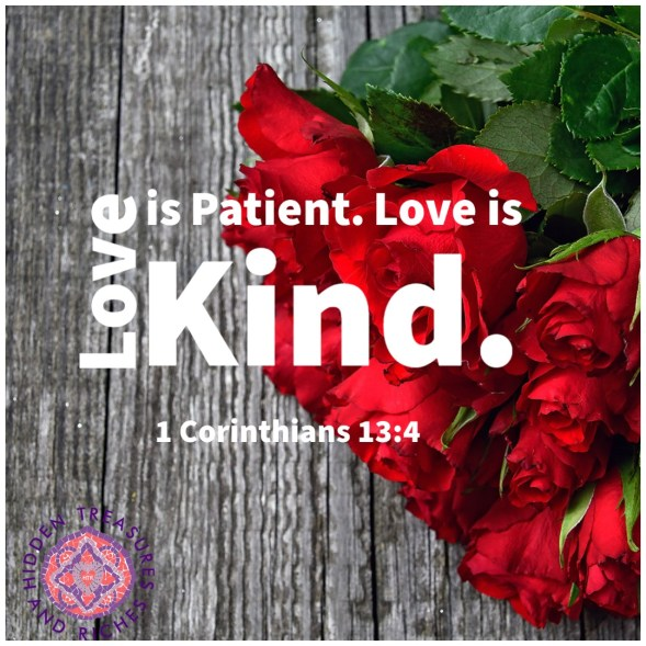 Extravagant Love is patient and  kind