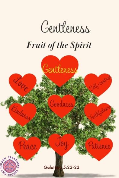 Gentleness- strength under control