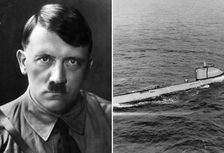 Откриха мистериозната подводница U-3523 на Хитлер, евакуирала фюрера и златото на Райха в Аржентина