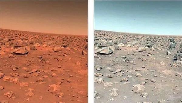 Има ли синьо небе, гори и езера на Червената планета? (видео)