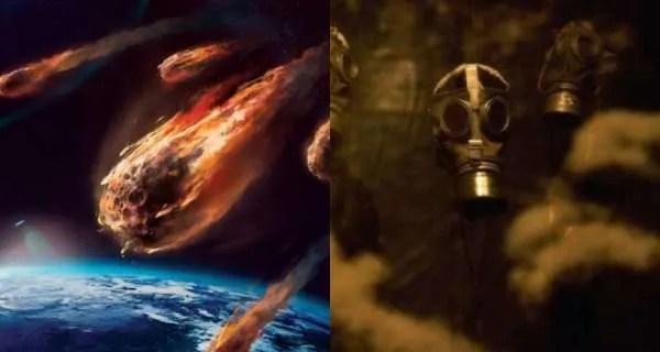 2020 година: Извънземните използват астероиди като газови бомби ,които летят към земята