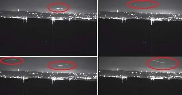 Загадъчните светлини над планината Браун вече са заснети на видео