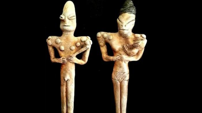 Древни рептили ли олицетворяват фигурите от Ирак?