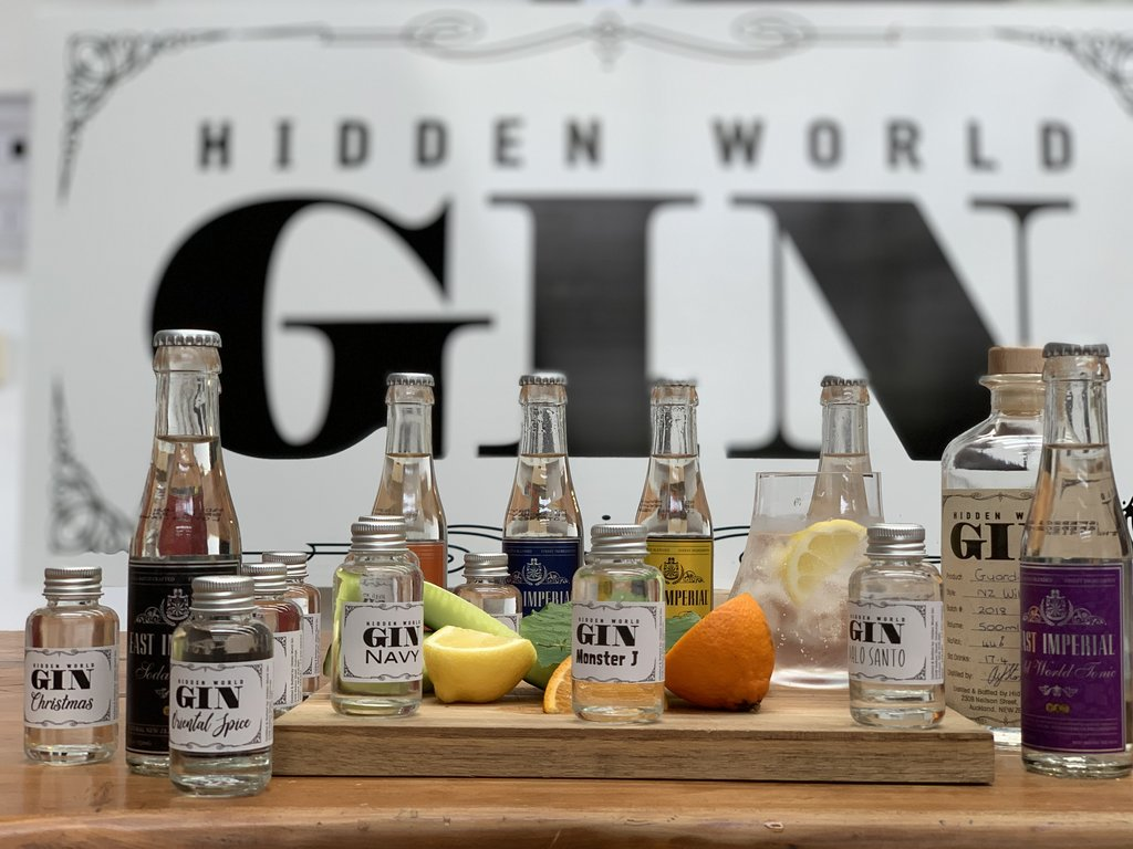 Hidden World Gin - 12 Gin Tasting Pack