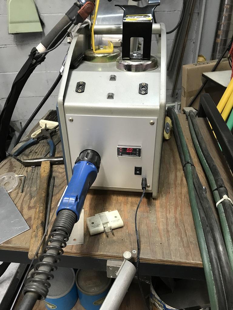 MIG溶接機 流量センサ追加