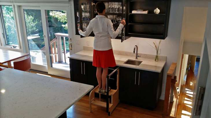 Pull Out Step Stool Vs Pull Down Cabinet Hideaway Solutions